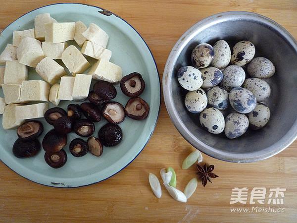 香菇冻豆腐烧鹌鹑蛋的做法大全