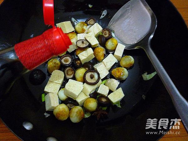 香菇冻豆腐烧鹌鹑蛋怎么炒