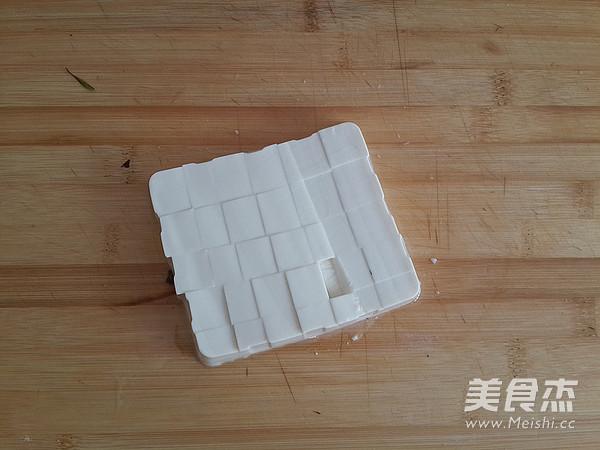 格琳诺尔香椿拌豆腐的做法图解