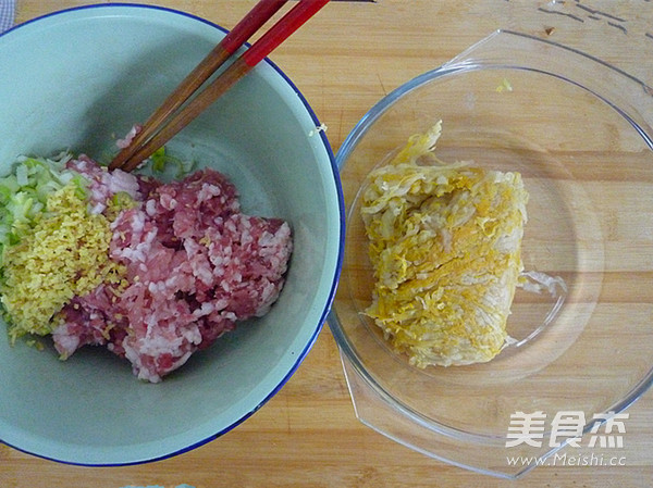 酸菜鲜肉水饺的做法图解