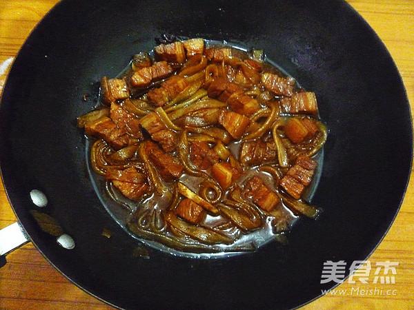 猪肉炖粉条怎样炒