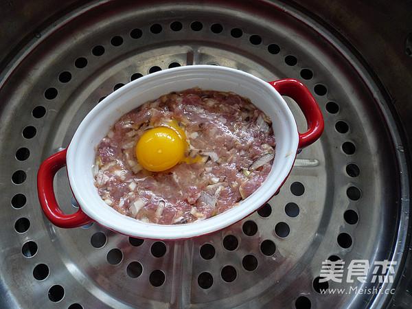 香菇肉饼蒸鹌鹑蛋怎么煮