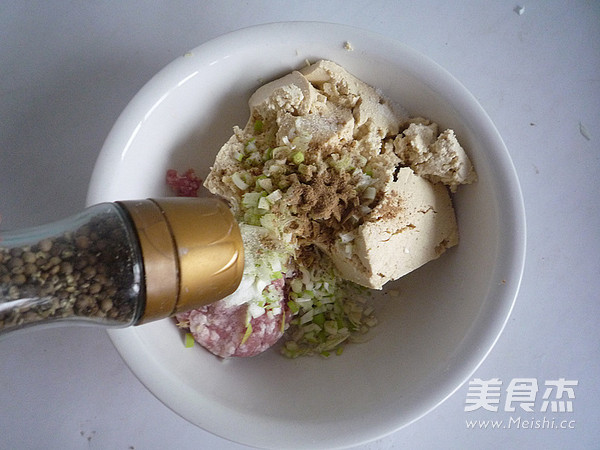 干炸豆腐丸子的家常做法