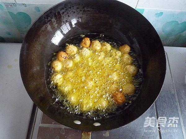 干炸豆腐丸子怎么炒