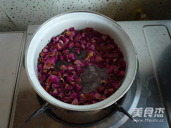 玫瑰酱怎么炒