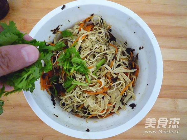 橄榄菜拌豆皮怎么煮