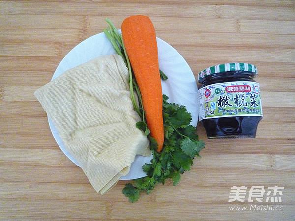 橄榄菜拌豆皮的做法大全