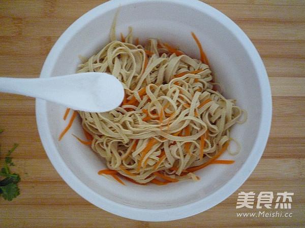 橄榄菜拌豆皮怎么做