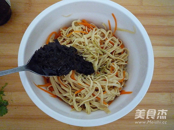 橄榄菜拌豆皮怎么炒