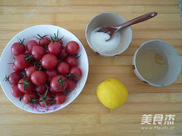 柠香蜜渍小番茄的做法大全
