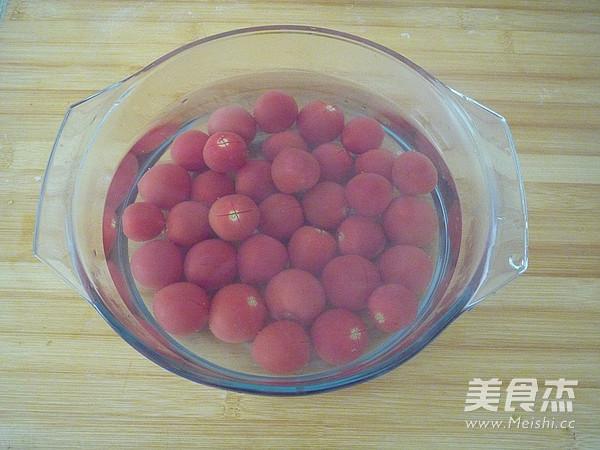 柠香蜜渍小番茄的家常做法
