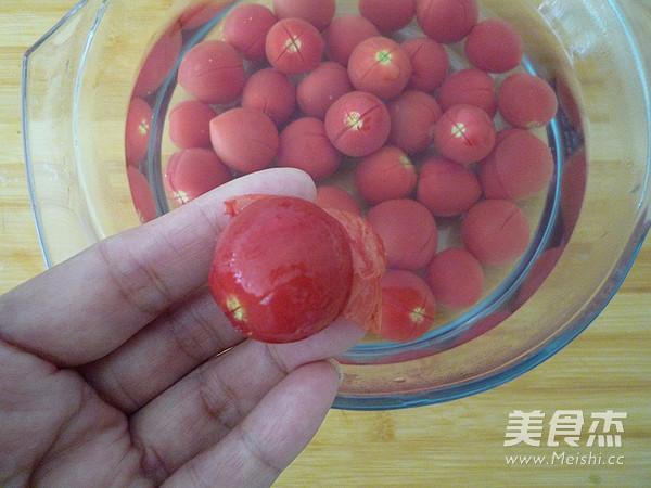 柠香蜜渍小番茄的简单做法