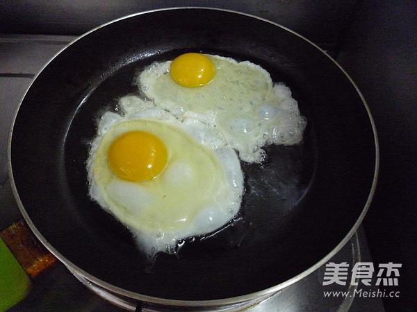 豆豉杭椒炒荷包蛋的家常做法