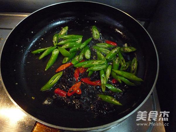 豆豉杭椒炒荷包蛋怎么做