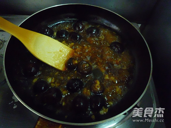 蚝油香菇油菜怎么煸