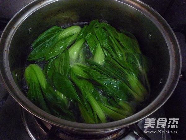 蚝油香菇油菜的简单做法