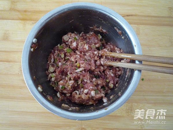 鲜肉豇豆锅贴的家常做法
