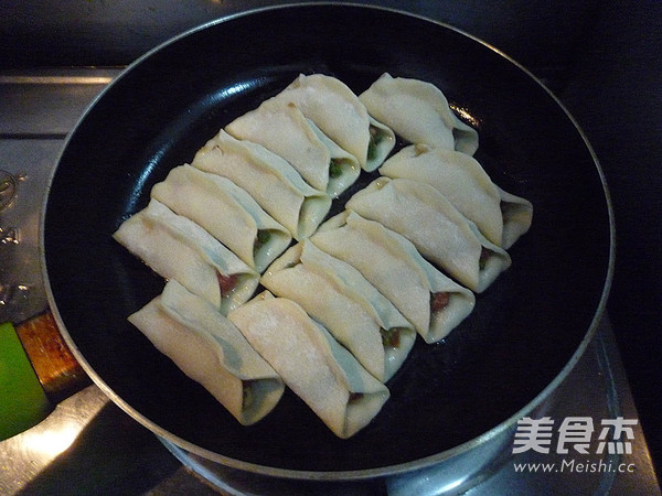 鲜肉豇豆锅贴怎样炒
