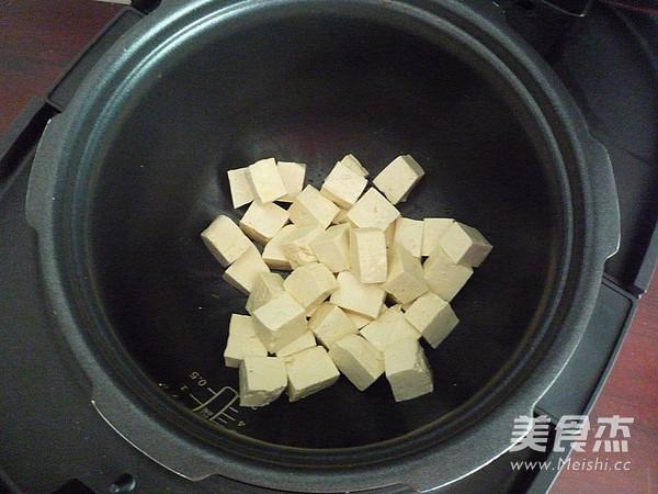肉末炖豆腐怎样煸