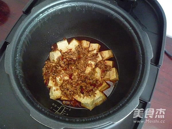 肉末炖豆腐怎样煮