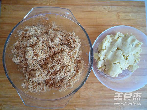 广式金丝肉松月饼怎么吃
