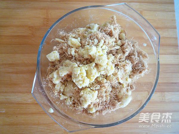 广式金丝肉松月饼怎么做