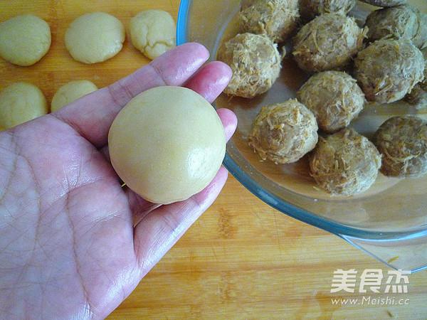 广式金丝肉松月饼怎样做