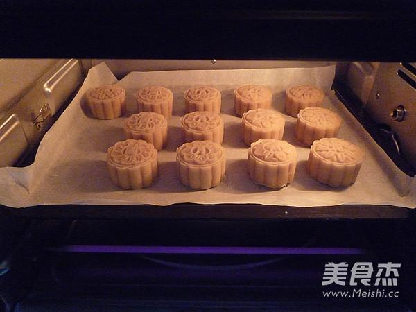 广式金丝肉松月饼的制作方法