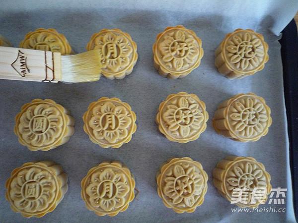 广式金丝肉松月饼的制作大全