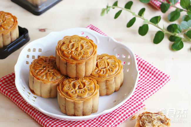 广式金丝肉松月饼的做法大全