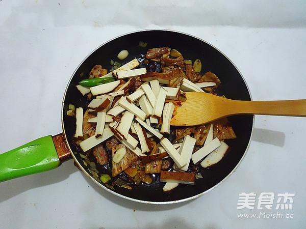 小炒豆腐干怎么煮