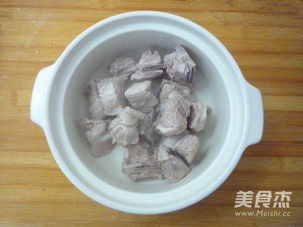 砂锅白菜冻豆腐的步骤