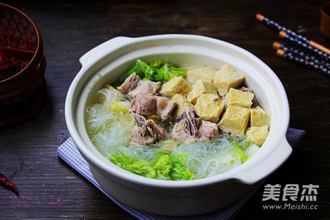 砂锅白菜冻豆腐怎么煸
