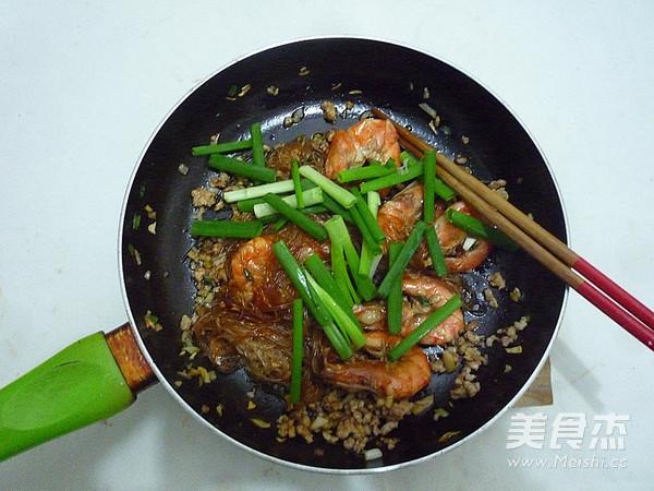 鲜虾粉丝煲怎样炒