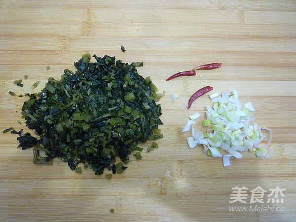 雪菜烧豆腐的做法图解