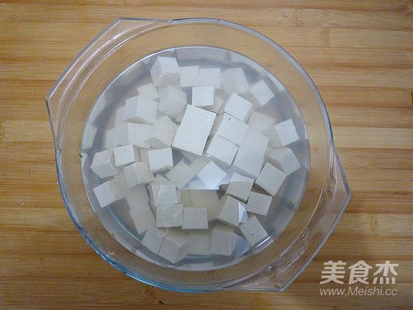 雪菜烧豆腐的家常做法
