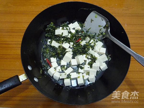 雪菜烧豆腐怎么炒