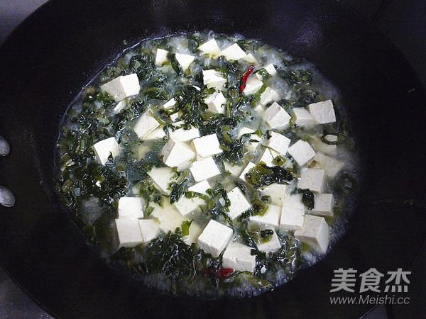 雪菜烧豆腐怎么煮