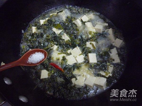 雪菜烧豆腐怎么炖