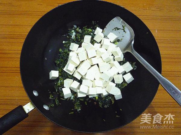 雪菜烧豆腐怎么做