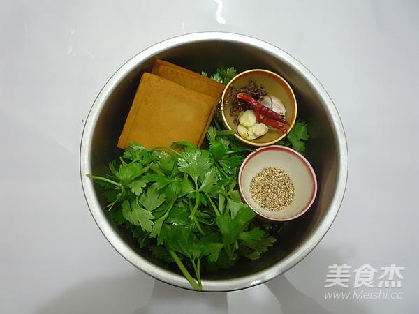 芹菜叶拌香干的做法大全