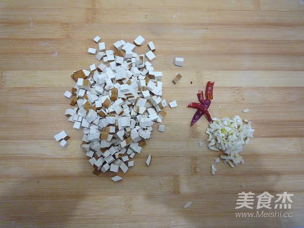 芹菜叶拌香干的简单做法