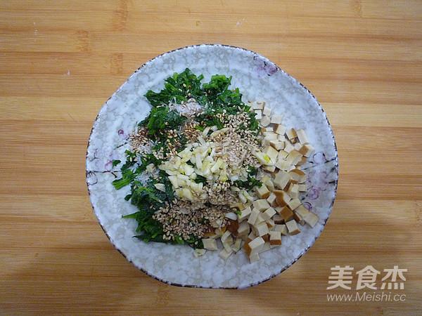 芹菜叶拌香干怎么做