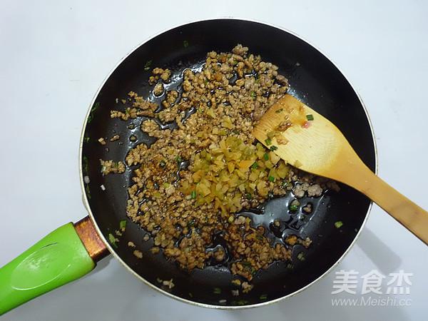 榨菜肉末蒸豆腐怎么煮