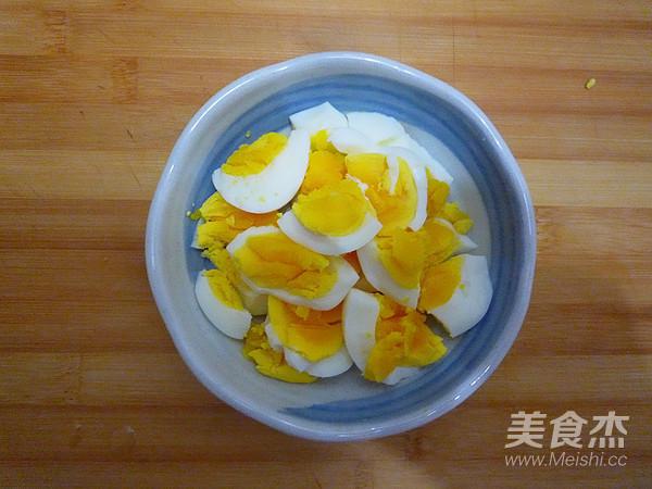 蒜泥拌鸡蛋的家常做法
