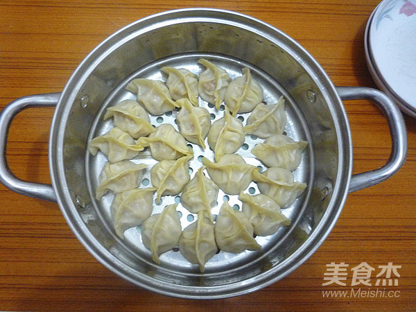 猪肉白萝卜蒸饺怎样煸