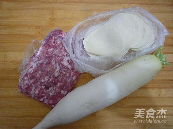 猪肉白萝卜蒸饺的做法大全