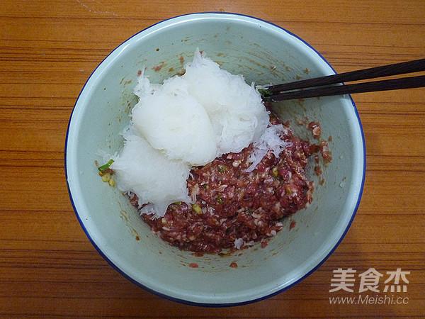 猪肉白萝卜蒸饺怎么吃