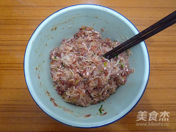猪肉白萝卜蒸饺怎么做