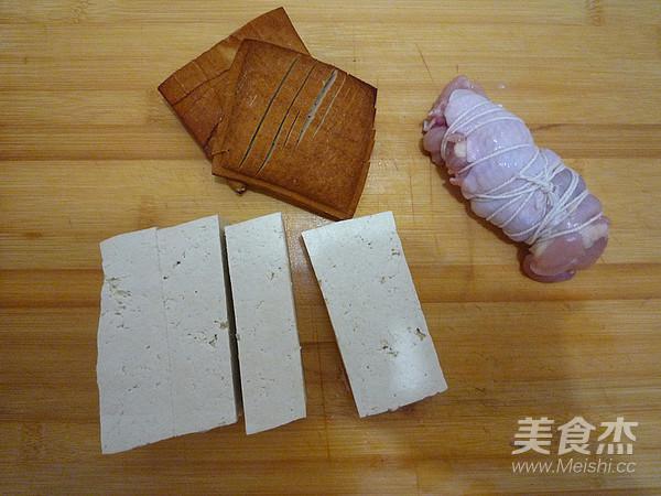 卤五花肉&卤豆腐的家常做法